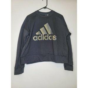 Adidas Long Sleeve Crew Neck Sweatshirt
